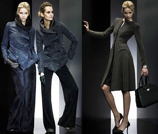 Giorgio Armani, мода осень 2009