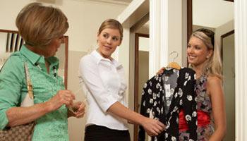 Модная одежда. Как выбрать, примерка