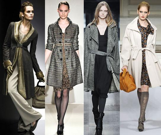 Мода 2009. Модное пальто на осень