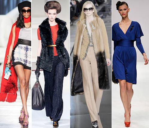 Мода: Осень, Зима. Dsquared2, Oscar de la Renta, Valentino, Issa