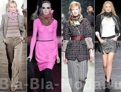 Модные платки и шарфы: Ralph Lauren, Marc Jacobs, Kenzo, Isabel Marant