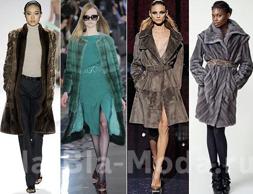 Модные шубы: Carlos Miele, Valentino, Versace, Bibhu Mohapatra