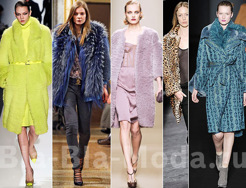 Модные шубы цветные: Michael Kors, Emilio Pucci, Bottega Veneta, Isabel Marant, Alberta Ferretti