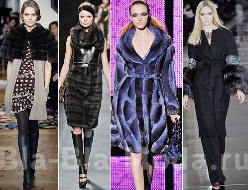 Модный мех: Tuleh, Fendi, Versace, Valentino