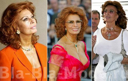 актриса Софи Лорен (Sophia Loren)