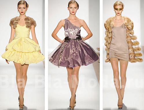 красивые коктейльные платья с рукавами на худеньких