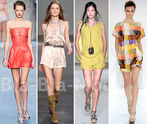 Модные летние комбинезоны: Karl Lagerfeld, Isabel Marant, Maurizio Pecoraro, Nicole Farhi