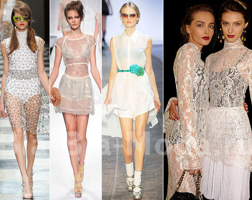 Модное нижнее белье. Prada, Fend, Rocha, Dolce & Gabbana
