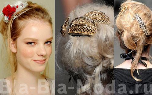Заколки для волос: Chanel, Dolce & Gabbana