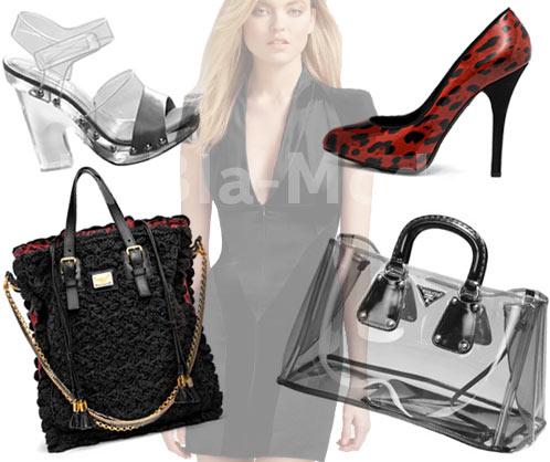 Модные сумки, обувь: Prada, Dolce & Gabbana