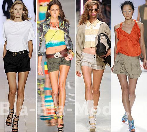 Модные шорты: Tommy Hilfiger, Blumarine, Unique, Nanette Lepore