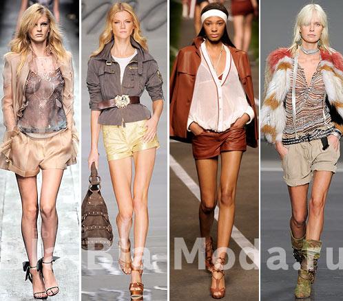 Модные шорты: Valentino, Blumarine, Hermes, Isabel Marant