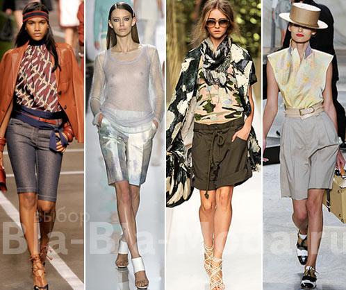 Модные длинные шорты: Hermes, Michael Kors, Kenzo, Isaac Mizrahi