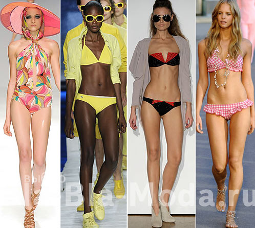 Модные купальники: Issa, Lacoste, Jasmine Di Milo, Chanel