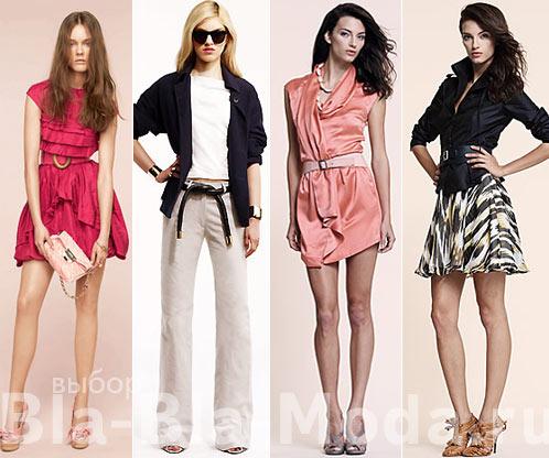 Что взять на море. На фото: платье Nina Ricci, брюки и жакет Jenni Kayne, платье Luca Luca, юбка и жакет Luca Luca