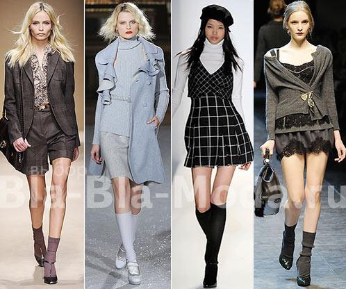 Носки и гольфы: Salvatore Ferragamo, Luisa Beccaria, Cynthia Steffe, Dolce & Gabbana