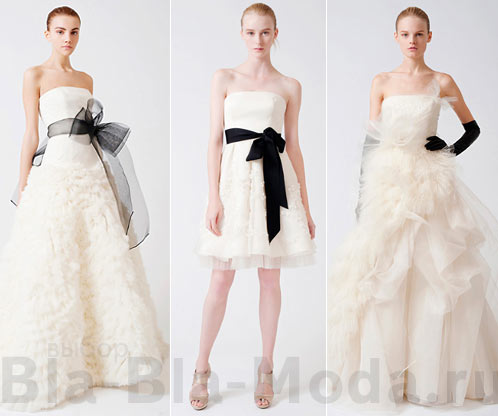 Модные свадебные платья которые