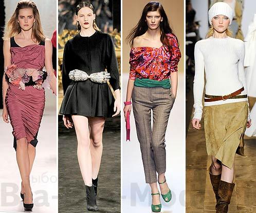 Модные пояса: Nina Ricci, Francesco Scognamiglio, Emanuel Ungaro, Michael Kors