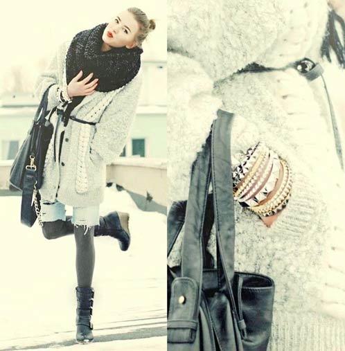 Джульетта. Модный лук. Уличная мода