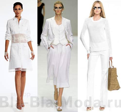 Белый цвет в моде! Модные коллекции: Chado Ralph Rucci, Dolce & Gabbana, Michael Kors