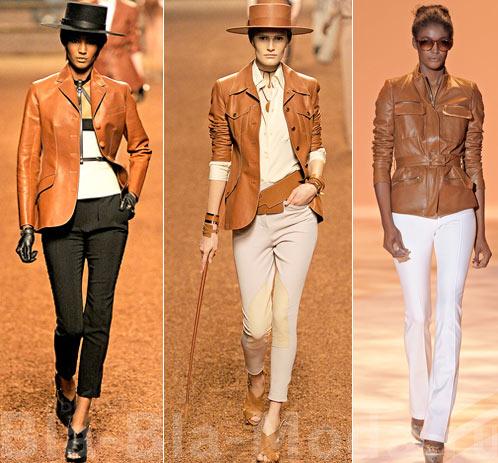 Модные куртки. На фото: две куртки Hermes, Christian Siriano