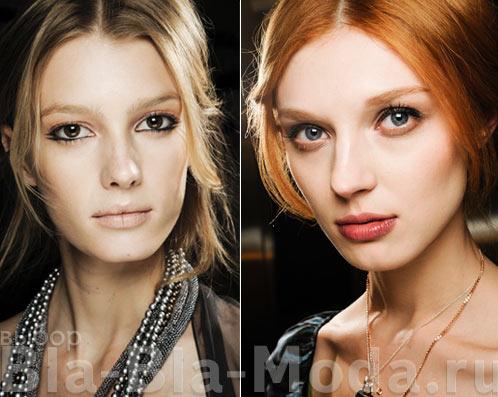 Модные челки, фото из коллекций Giorgio Armani и Dolce & Gabbana