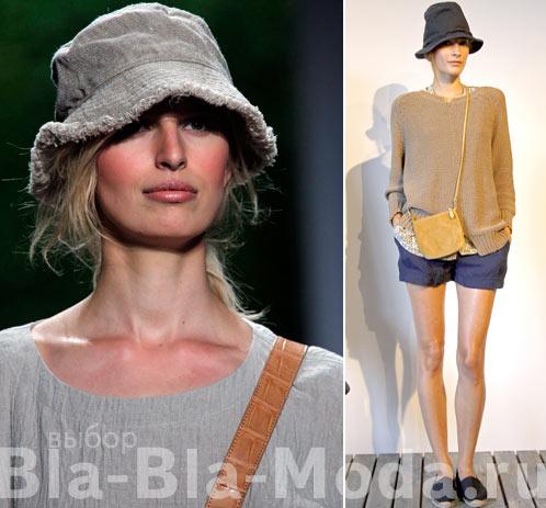 Модные шляпы из коллекций Michael Kors, Steven Alan