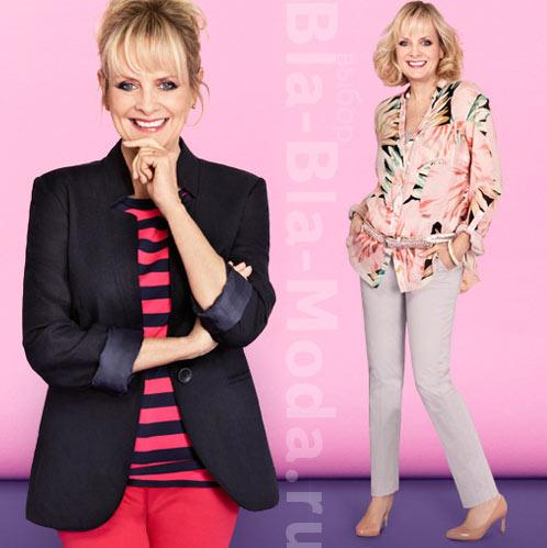 Твигги и ее новая коллекция модной одежды