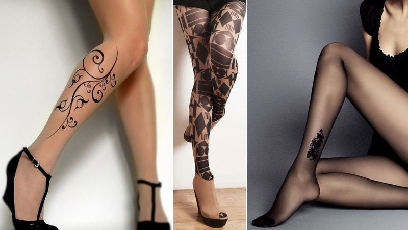 Tights to & quot; tattoo""
