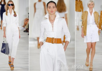 White color, Ralph Lauren