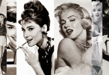 Marilyn Monroe and Audrey Hepburn