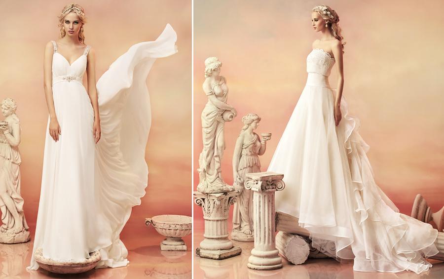 Свадебные платья, фото из коллекции Papilio