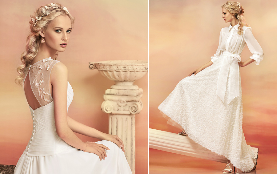 Beautiful wedding dresses from the collection Papilio