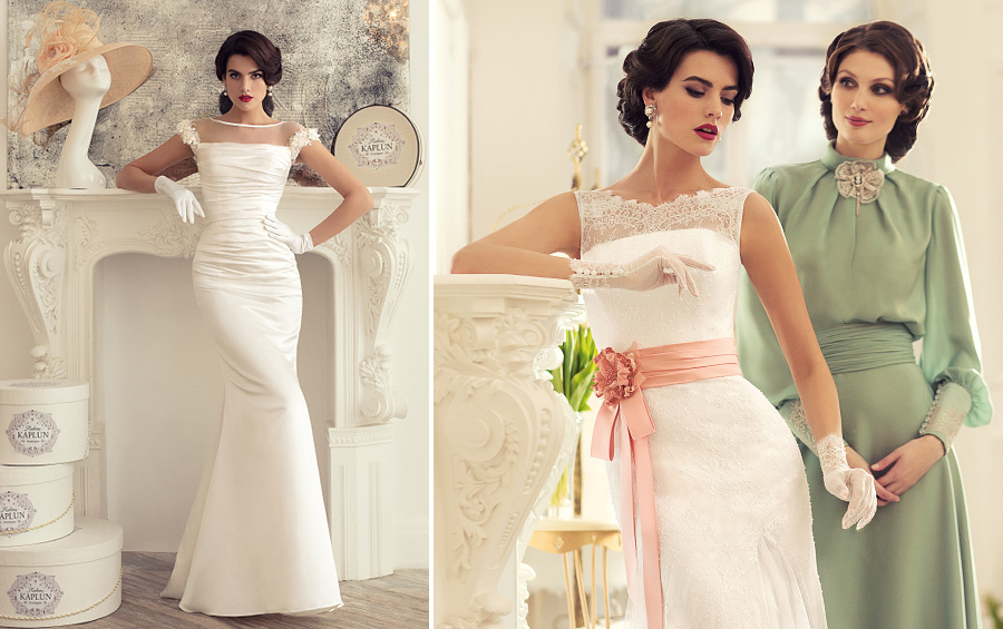 Beautiful wedding dresses from the collection of Madam Kaplun