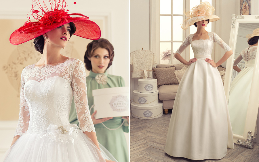 Luxury Wedding dresses from the collection of Madam Kaplun