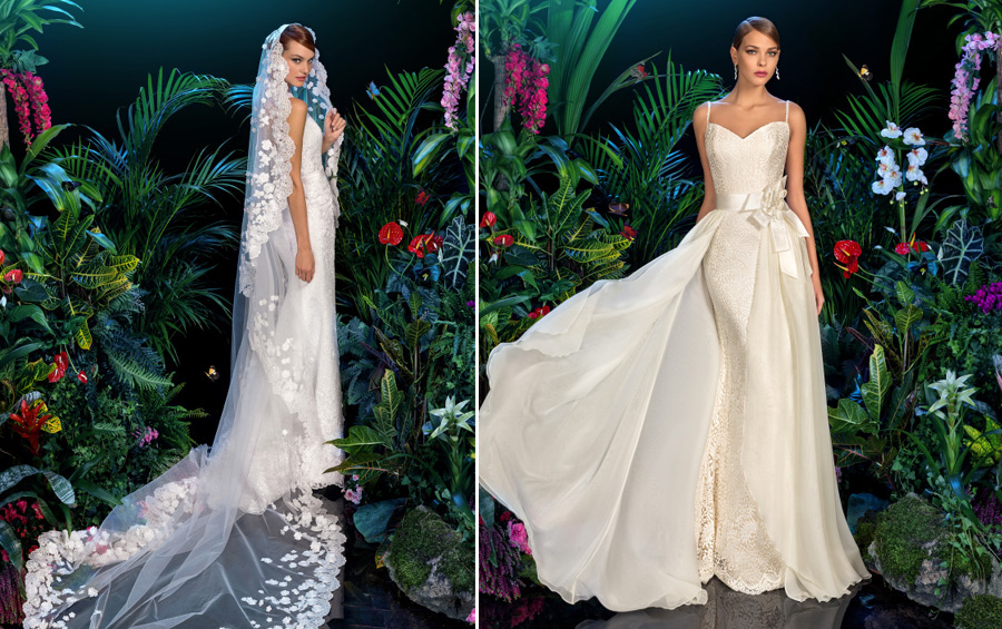 Wedding dresses from the collection Kookla