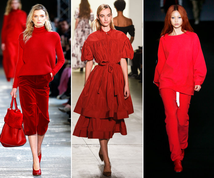 Red is always in fashion