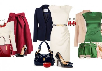 С чем носить платья и юбки
