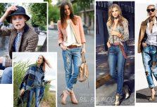 Смотрите, с чем носить джинсы осенью