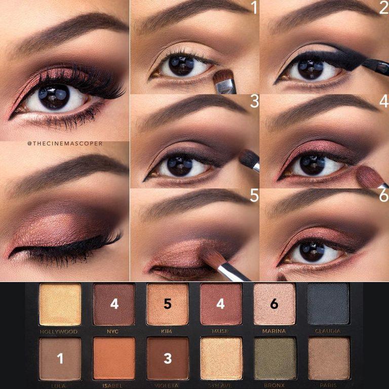 Видеоурок макияж для круглого лица