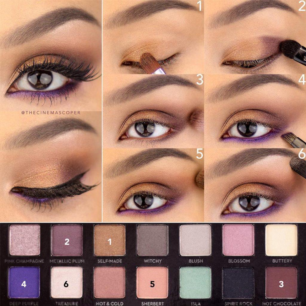 Классический макияж глаз поэтапно