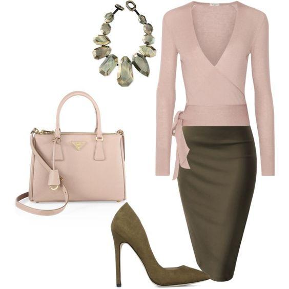 Pink & Khaki