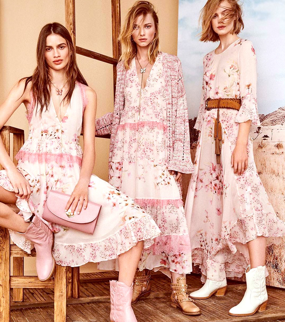 Spring stylish images in the style of boho-chic, Twinset